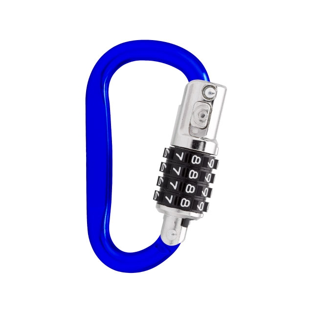 Silver Resettable D-Ring Combination Password Lock Travel Padlock Backpack Luggage Lock Mountaineering Buckle Carabiner