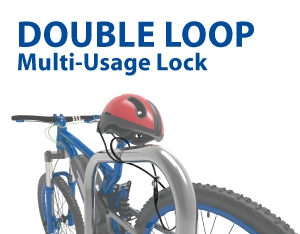 SINOX Double Loop Multi-Usage Lock (PL3001 & PL3002)