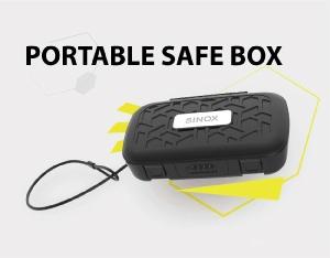 可攜式安全盒鎖