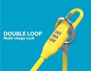 SINOX Double Loop Multi-Usage Lock