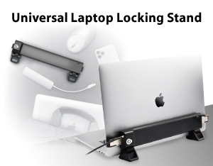 MacBook鎖架+多功能擴充器鎖殼