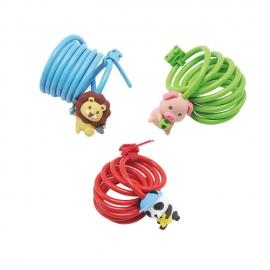 WD080X Kids Cute Key Cable Lock